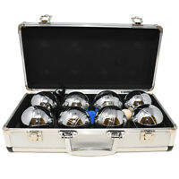 Big Game Hunters Boules in a metal case Rust Free Petanque bowls bowling set