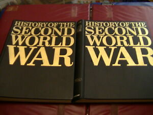 Purnell's History of the Second World War Magazines Volume 1 and 2 Folder 1966