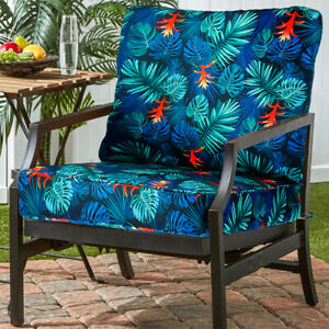 Romhouse Outdoor Patio Deep Seating Chair Patio Cushion Set Water-Resistant  ♡