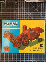 Vintage Original Rare Corgi Set 1111 Massey Ferguson Tractor with original box