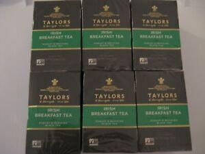 Taylors of Harrogate Irish Breakfast tea 50 Teabags Pack of 6 300 total tea bags