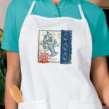 Blue Lobster New APRON Grill Cook Events Gifts Nautical Seafood Parties Bar