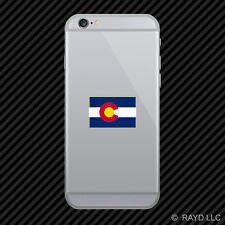 Colorado State Flag Cell Phone Sticker Mobile america american