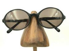Vintage Crown Black Oval Horn-Rimmed Frames FRAMES ONLY