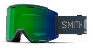 Smith Squad XL MTB/Bike Goggles AC Rocky Mountain, Everyday Green Lens + Bonus