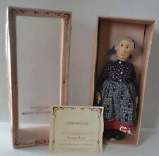 STEIFF Limited Edition Replica Peasant Lady 9110/43 Felt Doll 888/3000 w/ Box