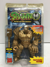 McFarlane Spawn Gold Overtkill Figure Special Edition + Comic Book -Sealed-