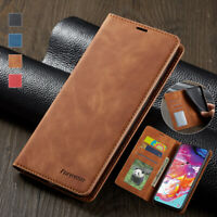 For Samsung Galaxy A20E A30 A40 A50 A70 Magnetic Wallet Case Leather Flip Cover