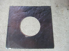 sleeve only CAPITOL MARBEL STONE   45 record company sleeve only    45