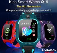 Smartwatch kids Montre Connectee Enfant Bluetooth SOS Tracker pour iOS Android