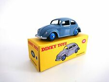 VOLKSWAGEN COCCINELLE BLEUE- DINKY TOYS - NOREV VOITURE MINIATURE - 181
