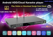 Vietnamese /English /Chinese KHP-8856 Android, Cloud Karaoke player 4K, No HDD.