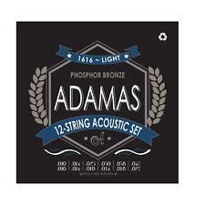 Adamas 12-String Acoustic Guitar Set Light .010-.027