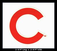 CHICAGO CUBS BASEBALL MLB INDOOR DECAL STICKER TEAM LOGO~BUY 1 GET 1 30% OFF