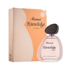 Knowledge for Her - 100 ml - RASASI Perfumes Authorised Distributors UK & EU
