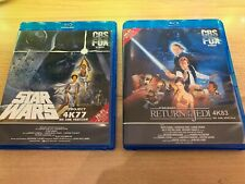 Star Wars 4K77 & 4K83 1080p with DNR or  NO DNR Bluray