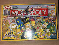 Monopoly The Simpsons Edition 2003 Parker Complete VGC Pewter Tokens