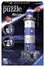 3D Puzzle Night Edition IL FARO LEUCHTTURM con Luci LED 216pz by RAVENSBURGER