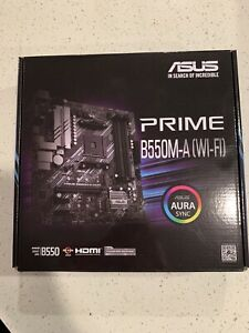 ASUS Prime B550M-A WiFi Micro-ATX AMD AM4 Motherboard - NEW