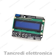 LCD KEYPAD SHIELD 16X2 BLU + 6 PULSANTI HD44780 1602 MODULO (Arduino-Compatibile