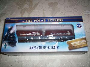 American Flyer Trains #2019200 POLAR Express Flat Car with Milk Containers