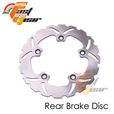 Solid Rear Brake Disc Rotor x1 For Suzuki GSF 1250 BANDIT / S 07 08 09 10 11-14