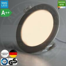 Mia LUZ EMPOTRABLE PANEL LED Ø120mm A 6w 3000k Blanco Cálido Rendondo (einbaup