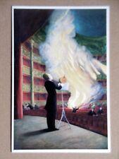 OLIVIER O. OLIVIER carton Gal. Berggruen & Cie peintre français Merry-la-Vallée