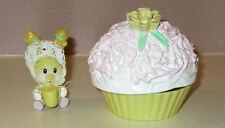 Tiny Daffodil Dumpling w/ Coconut Cupcake Tea Bunnies Bunny Baby Complete