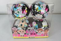 LOL Surprise Remix Fan Club 4 Pack - 4 Re-released Dolls each with 7 Surprises