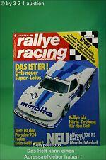 Rallye Racing 6/79 Fiat X 1/9 Porsche 924 Turbo Lotus