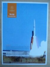 2019 DOCUMENT PUB CHINA CGWIC TK-21 TK-32 SOUNDING ROCKET METEOROLOGY AEROLOGIE