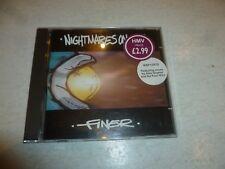 NIGHTMARES ON WAX - Finer - 1999 UK Warp Records 3-track CD single