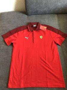 Puma Scuderia Ferrari Poloshirt Größe L
