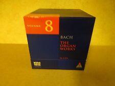 16-CD BOX BACH 2000 TELDEC DAS ALTE WERK VOLUME 8 / BACH - THE ORGAN WORKS