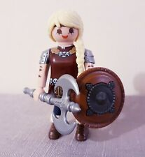 Playmobil, Astrid how to train your dragon - vikings, castle knight figure, rare