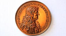 1667 FRANCE Frankreich Louis XIV Medal Mauger (later strike (?))