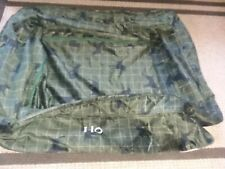 Orvis Large Green Plaid Black Dog Bed Cover Replacement Unused Second 60-90 lbs