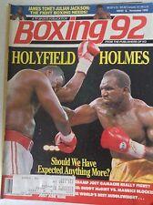 Boxing Magazine Evander Holyfield Holmes November 1992 081617nonrh2