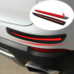Car Bumper Corner Protector Guard Cover Anti Scratch Rubber Sticker Accessories