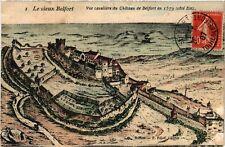 CPA  Le vieux Belfort - Vue cavaliére du Cháteau de Belfort en 1579   (585117)