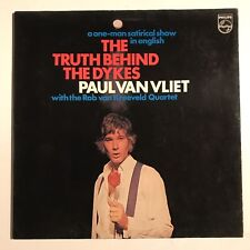RARE Paul Van Vliet The Truth Behind The Dykes Vinyl LP Rob Van Kreeveld Quartet