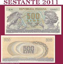 ITALY ITALIA, 500 LIRE ARETUSA 23.4. 1975, P 93b, Miconi Canfora B.  FDS / UNC