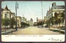 Mexico Postcard Colonia Juarez Calle Londres To USA '09