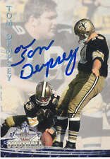 TOM DEMPSEY SIGNED 1994 TED WILLIAMS FOOTBALL CARD SAINTS 63 YD FG