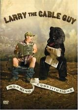 Larry the Cable Guy - Morning Constitution (DVD, 2007) BRAND NEW SEALED!!!