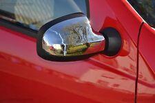 Cromo Dacia Sandero Stepway Logan MCV Espejo Parabrisas año fab. 09> acero inox.