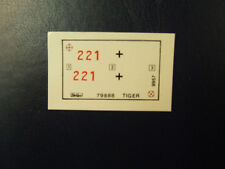 1/35ème  DECAL POUR TIGER ALLEMAND WWII  /  HELLER référence 79888