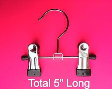 MARKET STALL SMALL CHROME HANGERS 10x PIECES