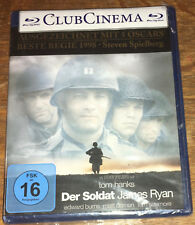 Der Soldat James Ryan Blu-ray New Sealed Saving Private Ryan GERMAN